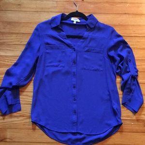 Express Blue Portofino Shirt